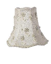 Chandelier Shade - Daisy Pearl - Ivory by