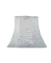 Chandelier Shade - Plain - Blue by