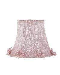 Chandelier Shade - Pearl Burst - Pink by