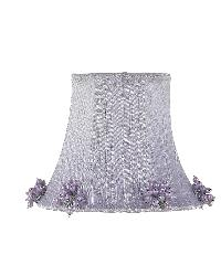 Chandelier Shade - Pearl Burst - Lavender by