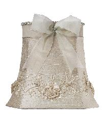 Shade - LG - Floral Bouquet - Ivory by