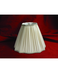 Taupe Inverted Corners Fancy Square Pleated by