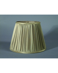 Taupe Pencil Pleat by