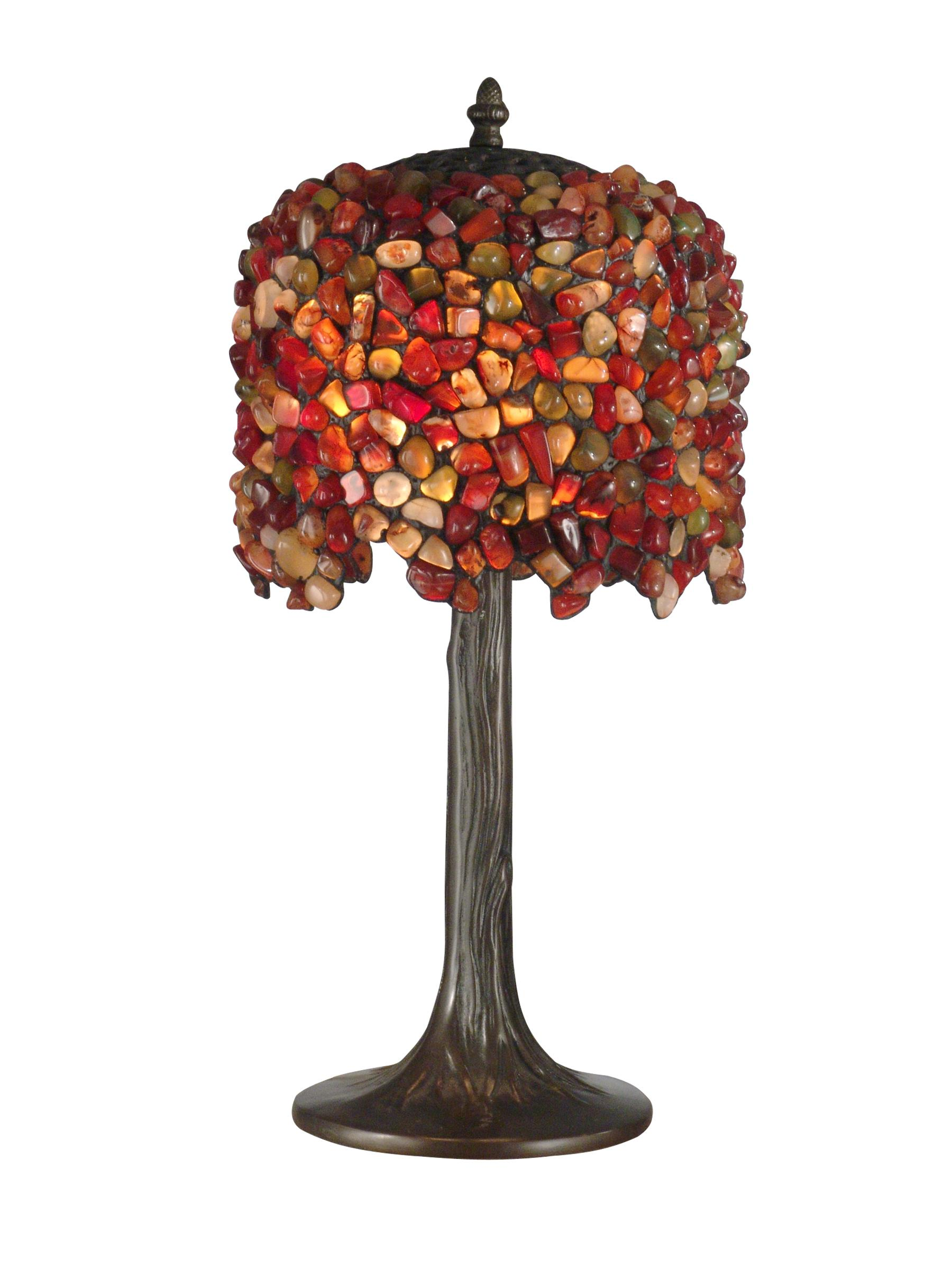 Tiffany art glass pebble stone table lamp dale tiffany dale tiffany tiffany art glass pebble stone table lamp antique bronze finish search results aloadofball Images