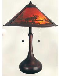 Traditional Rustic Table Lamp by