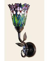 Meadowbrook Floral Wall Sconce by