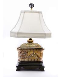 Gold Design Teajar Lamp by