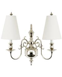Jamestown I Traditional Sconce Light by