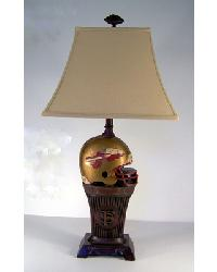 Florida State Lamp Bronze Base by