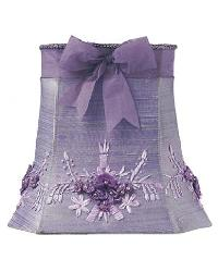 Lavender Floral Bouquet Medium Shade by