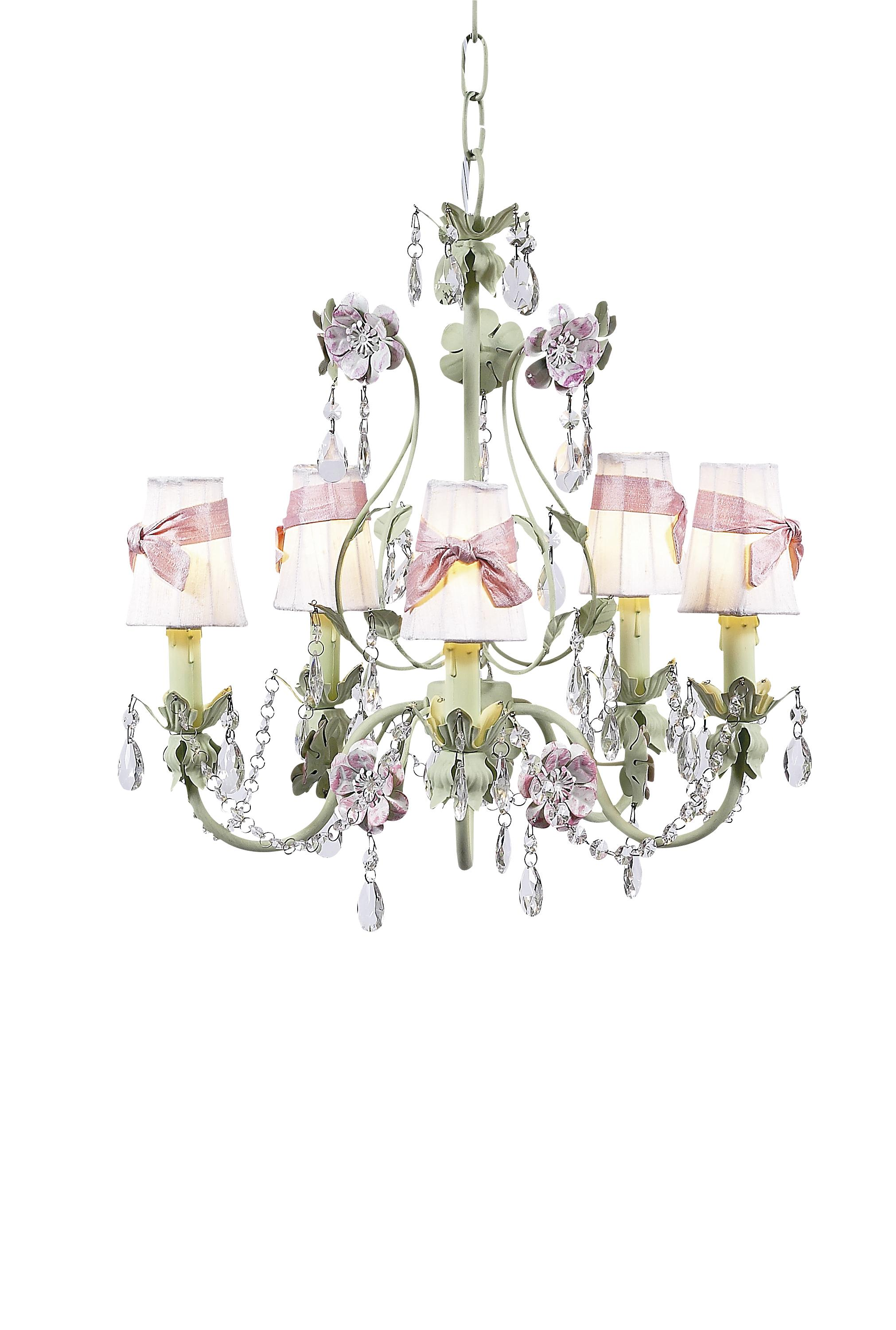Plain chandelier shades wsash on flower garden chandelier white jubilee collection plain chandelier shades wsash on flower garden chandelier white pink aloadofball Image collections