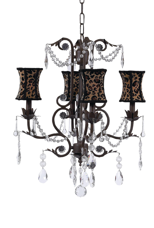 Hourglass Chandelier Shade On Valentino Chandelier Mocha