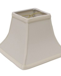 Square Bell Egg 8in Chandelier Shade by