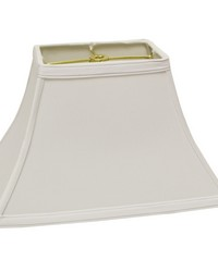 Rectangular Bell White 14in by