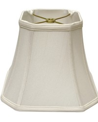 Cut Corner Square Bell White 10in by