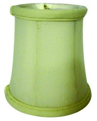 Tissue Shantung Egg 4in Chandelier Shade by
