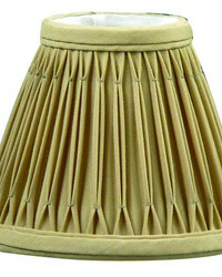 Empire Vintage Gold 6in Chandelier Shade by