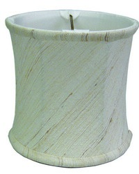 Corset Drum Natural 4in Chandelier Shade by