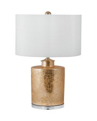 Glam Barrel Table Lamp by