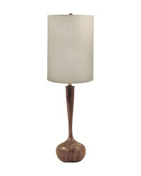 Wooden Tulip Table Lamp by