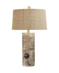 Aspen Bark Table Lamp by