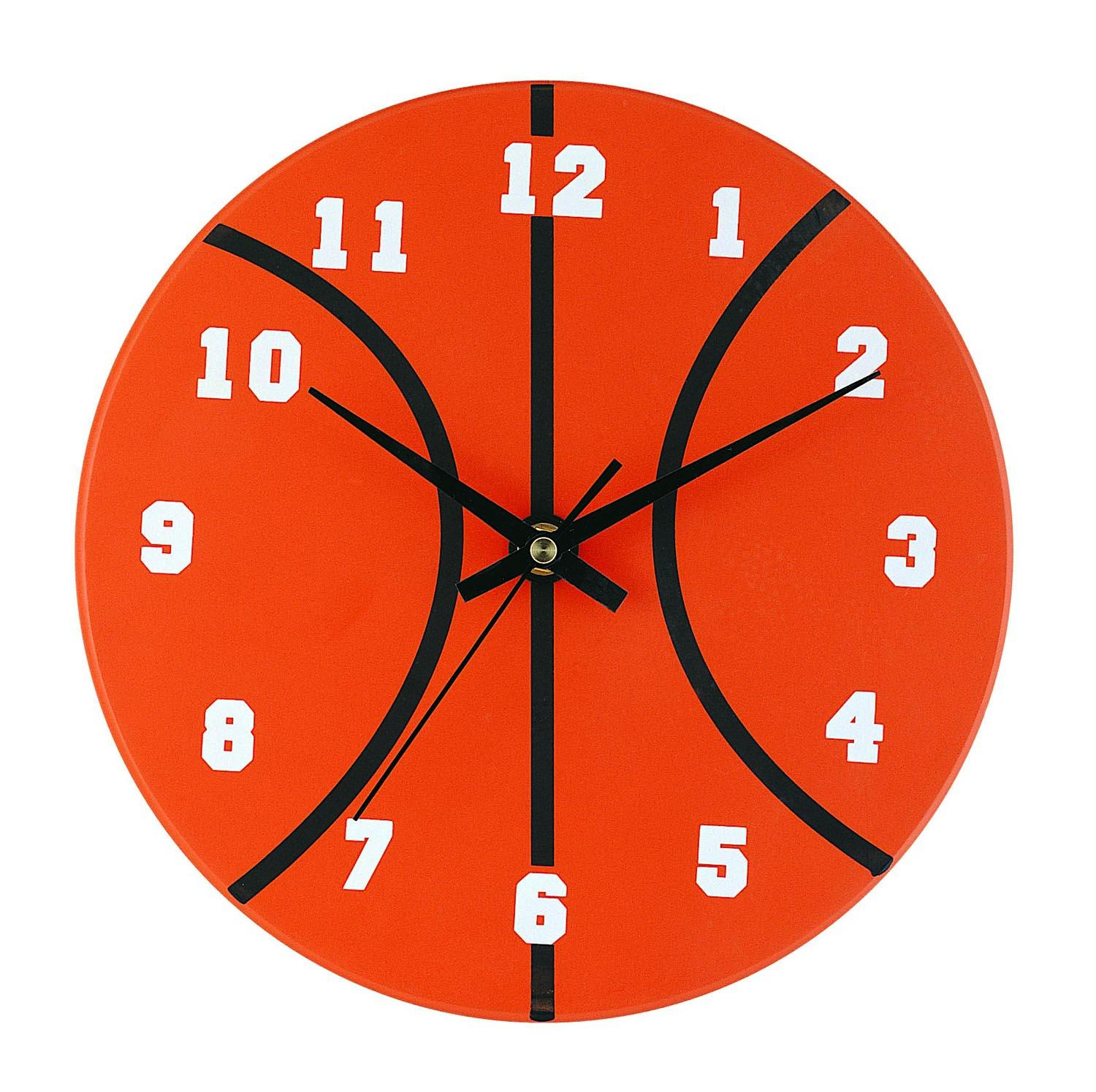 Basketball Clock Interiordecorating