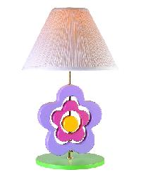 Hippie Spinning Flower Lamp by