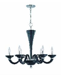 Latifah Black Chandelier by