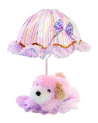 Puppy Lamp - Pink by