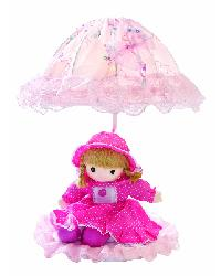 Baby Doll Lamp - Pink by