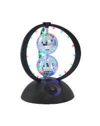 Disco Planet Light w/ 2 Disco Balls by