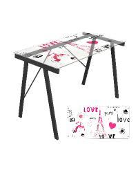 Love in Paris Office Desk by