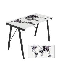 World Map Office Desk by