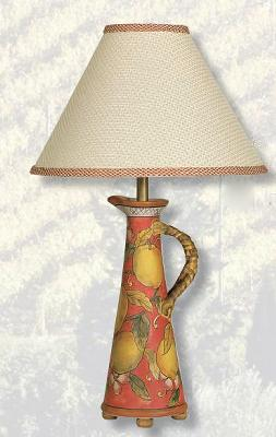 Mario Lamps Olive Oil Jar Table Lamp Honeycomb Beige Shade Search Results