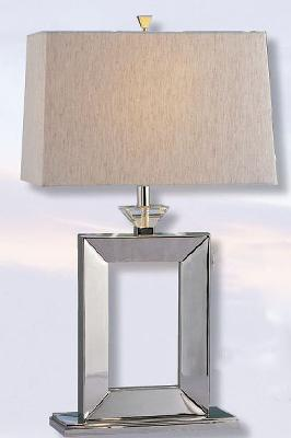 Mario Lamps Modern Chrome Table Lamp Rectangular Flax Linen Shade Search Results