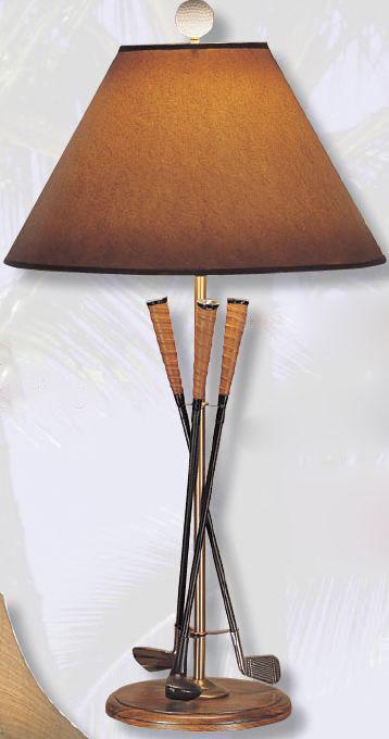 High Quality Golf Club Table Lamp