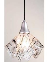 Branches Handkerchief Glass Mini Pendant 10028 by