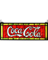Coca-Cola Stained Glass Window by