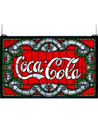 Coca-Cola Victorian Stained Glass Window 106235 by