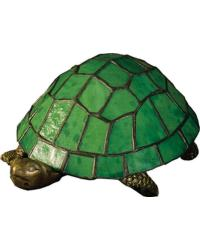 Turtle Tiffany Glass Accent Lamp 10750 by