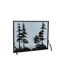 Tall Pines Fireplace Screen by