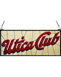 Utica Club Stained Glass Window 113374 by