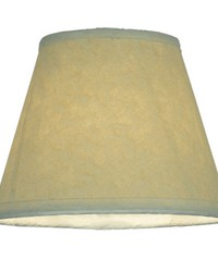 5in W X 4in H Aged Celadon Beige Parchment Shade 116558 by