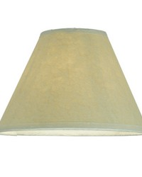 7in W X 4.5in H Aged Celadon Beige Parchment Shade 116565 by
