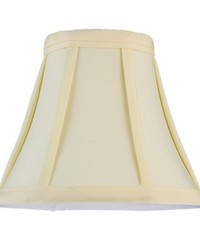 6in W X 5in H Trumpet Cream Fabric Shade 116569 by