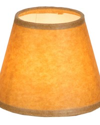 5in W X 4in H Taos Brown Parchment Shade 116577 by