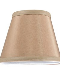 5in W X 4in H Faille Taupe Shade 117279 by