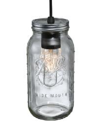 Mason Jar 2 Qt Mini Pendant 120901 by