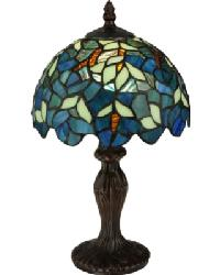 Nightfall Wisteria Mini Lamp 124812 by