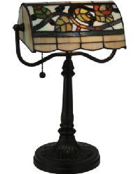 Vineyard Bankers Lamp by